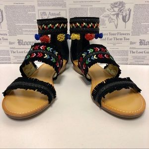 Carlos Santana Tangier Gladiator Sandals NIB 10